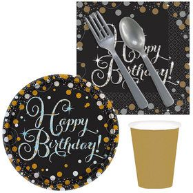 Sparkling Celebration Birthday Snack Pack For 16