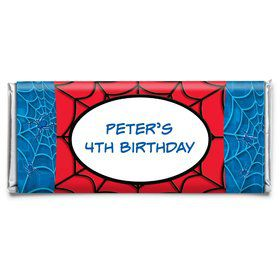 Spider Personalized Candy Bar Wrapper (each)