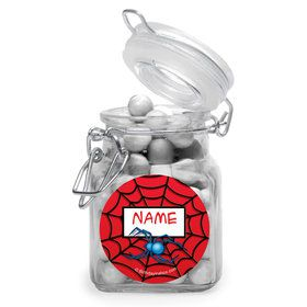 Spider Personalized Glass Apothecary Jars (10 Count)