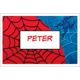 Spider Personalized Placemat (each)