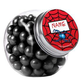 Spider Personalized Plain Glass Jars (10 Count)