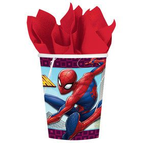 Spiderman 9oz. Paper Cups (8 Pack)