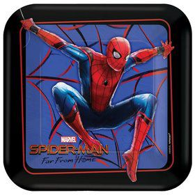Spiderman Far From Home Dessert Plates (8)