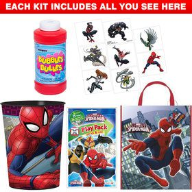 Spiderman Favor Kit (For 1 Guest)