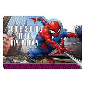 Spiderman Postcard Invitation (8 Pack)