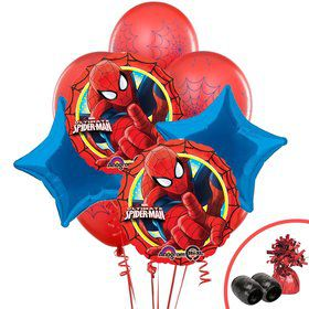 Spiderman Webbed Wonder Balloon Bouquet