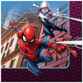 Spiderman Webbed Wonder Beverage Napkins (16)