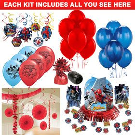 Spiderman Webbed Wonder Decoration Kit