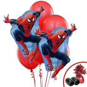 Spiderman Webbed Wonder Jumbo Balloon Bouquet