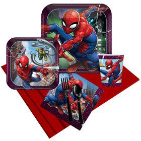 Spiderman Webbed Wonder Party Pack (For 8 Guests)