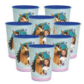 Spirit Riding Free 16oz Plastic Favor Cup (8)