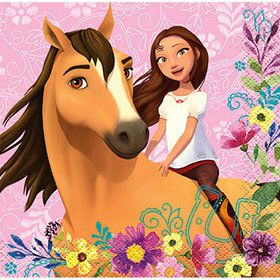 Spirit Riding Free Beverage Napkins (16)