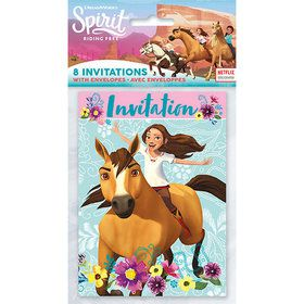 Spirit Riding Free Invitations (8)