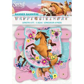 Spirit Riding Free Large Banner (1)