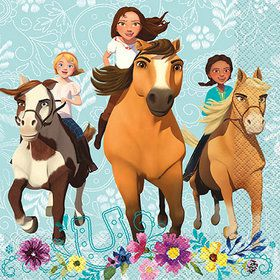 Spirit Riding Free Luncheon Napkins (16)