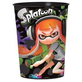 Splatoon 16oz Plastic Favor Cup (1)