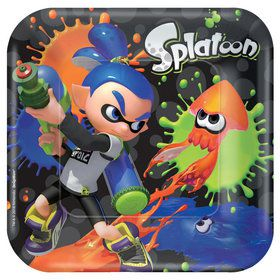 "Splatoon 7"" Plates (8)"