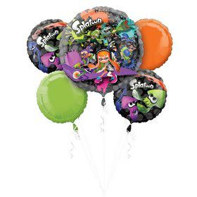 Splatoon Balloon Bouquet