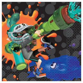 Splatoon Beverage Napkins (16)