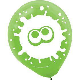 Splatoon Latex Balloons (6)