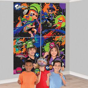 Splatoon Scene Setter Wall Decoration With Photo Props
