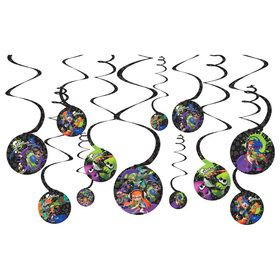 Splatoon Swirl Hanging Decorations (12)