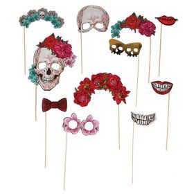 Spooky Floral Photo Props (12)