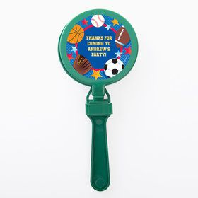 Sports Birthday Personalized Clappers (Set of 12)