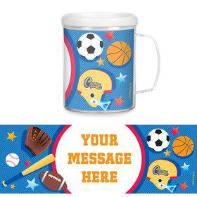 Sports Birthday Personalized Favor Mugs (Each)