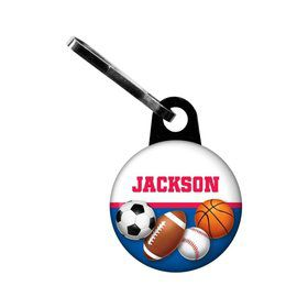 Sports Birthday Personalized Mini Zipper (each)