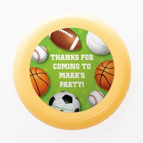 Sports Party Personalized Mini Discs (Set of 12)