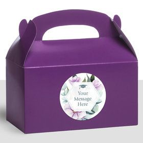 Spring to Success Personalized Treat Favor Boxes (12 Count)