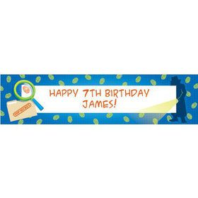 Spy Party Personalized Banner (each)