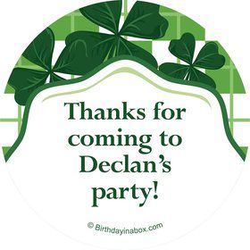 St. Patrick's Day Personalized Stickers (Each)