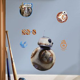 Star Wars 7 The Force Awakens BB-8 Giant Wall Decal