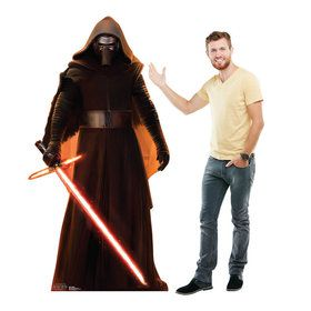 Star Wars 7 The Force Awakens Kylo Ren Standup - 6' Tall