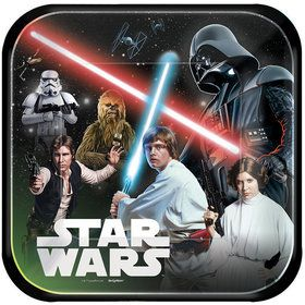 "Star Wars Classic 9"" Luncheon Plates (8 Count)"