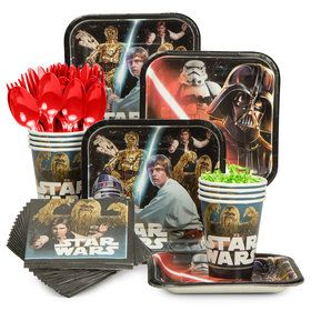 Star Wars Classic Standard Tableware Kit (Serves 8)