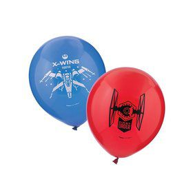 Star Wars EP Vll Latex Balloons ( 6 Pack)