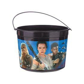 Star Wars EP Vll Plastic Favor Container