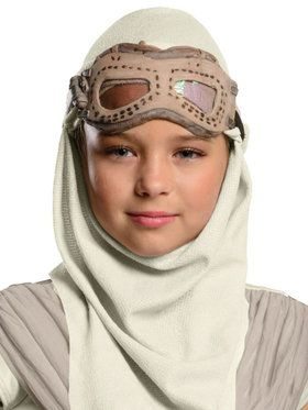 Star Wars Episode Vii Rey Mask And Hood