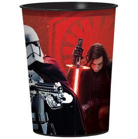 Star Wars Episode VIII 16oz Plastic Favor Cup (1)