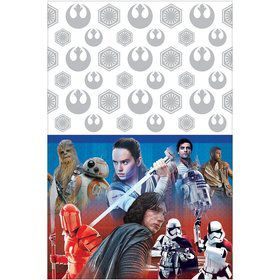 Star Wars Episode VIII Plastic Tablecover (1)
