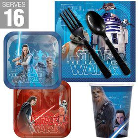 Star Wars Episode VIII The Last Jedi Snack Pack for 16