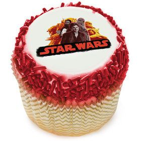 "Star Wars Han Solo 2"" Edible Cupcake Topper (12 Images)"