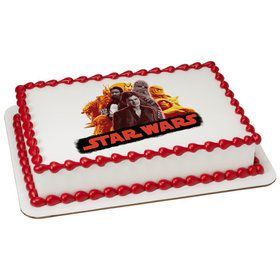 Star Wars Han Solo Quarter Sheet Edible Cake Topper (Each)