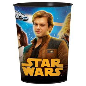 Star Wars Hans Solo Plastic 16oz Favor Cup (1)