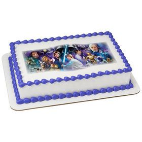 Star Wars Quarter Sheet Edible Cake Topper (Each)
