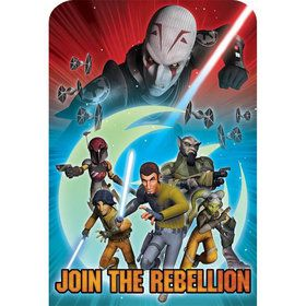 Star Wars Rebels Invitations (8 Pack)