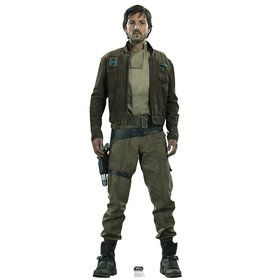 Star Wars Rogue One Captain Cassian Cardboard Standup